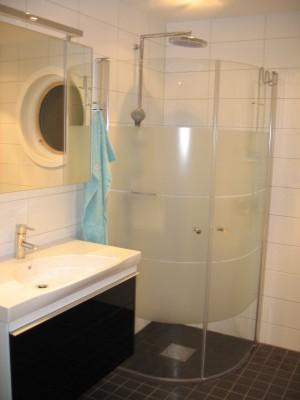 Badrum duschhörna
