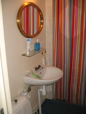 Före lilla badrummet