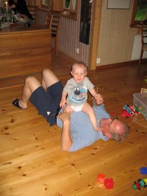 Busa med farfar