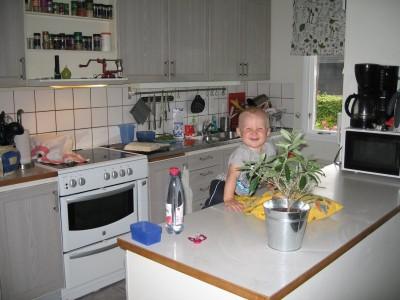 Klättra i köket