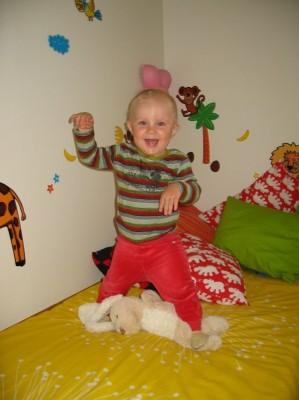 15 månaders Noa redo för förskola