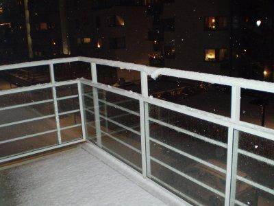 Snöigt Malmö